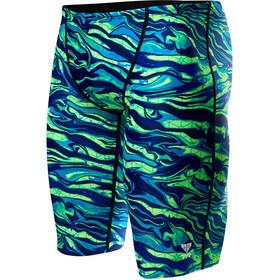 TYR Miramar Allover zwembroek Heren groen/blauw